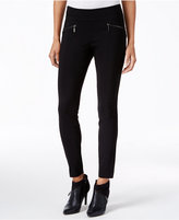 Bar III Zip-Pocket Pull-On Skinny Pants, Only at Macy's