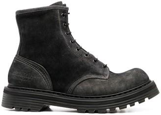Premiata Lace-Up Hiking Boots