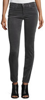 AG Adriano Goldschmied Prima Mid-Rise Cigarette Jeans, Asteroid Gray