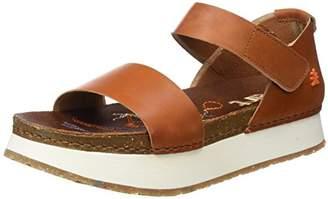 Art 1260 Mojave Mykonos, Women's Open Toe Platform Sandals, Brown (Cuero), (42 EU)