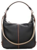 Tod's Miky Medium Leather Shoulder Bag