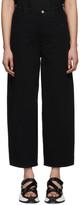 MM6 MAISON MARGIELA Black Five-Pocket Lounge Pants
