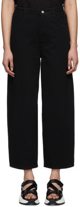 MM6 MAISON MARGIELA Black Five-Pocket Lounge Pants