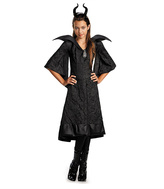 Disguise Maleficent Black Gown Dress-Up Set - Girls