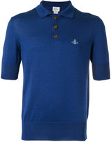 Vivienne Westwood Man embroidered logo polo shirt