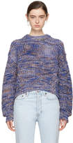 Acne Studios Blue Zora Sweater