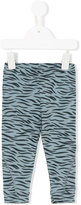 Stella McCartney tiger stripe leggings - kids - Cotton/Spandex/Elastane - 3 mth