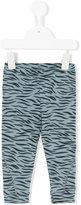 Stella McCartney tiger stripe leggings