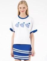 91,2 White Shuttercock T-Shirt