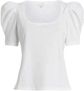 A.L.C. Rumi Puff Sleeve T-Shirt