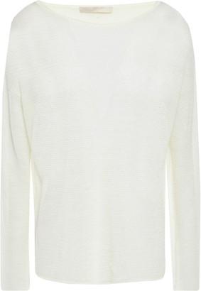 Vanessa Bruno Crochet-knit Linen-blend Sweater