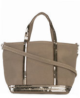 Vanessa Bruno sequined strap tote - women - Cotton/PVC - One Size
