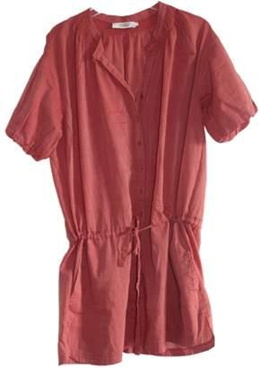 Comptoir des Cotonniers \N Red Cotton Dress for Women