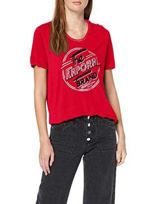 Kaporal Women's Week T-Shirt, Red W11 Tango