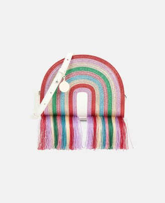 Stella McCartney glitter rainbow bag