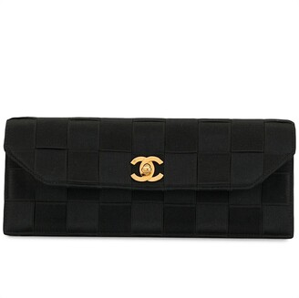 Chanel Pre Owned Chocolate Bar clutch