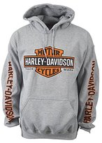 Harley-Davidson Bar & Shield Pullover Hoodie - Eagle Custom Overseas Tour XL
