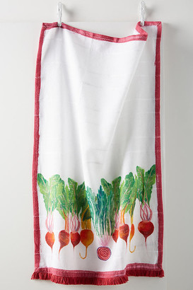 Anthropologie Radish Dish Towel By in Assorted Size DISHTOWEL