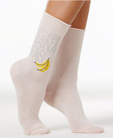 Hue Women's Let's Go Bananas Socks