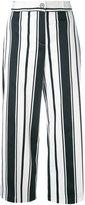 Blugirl striped wide-leg trousers