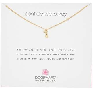 Dogeared Confidence is Key Charm Necklace