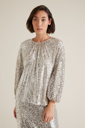 Seed Heritage Sequin Blouse
