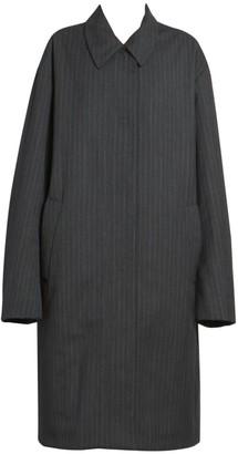 Dries Van Noten Pinstripe Overcoat