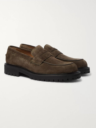 Mr P. Jacques Suede Loafers