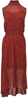 Nanette Nanette Lepore Sleeveless Midi Smocked Waist Dress
