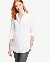 Ann Taylor Petite Oversized Shirt