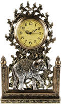 Jay Import Elephant & Tree Clock