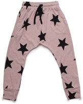 Nununu Girl's Star Baggy Pants - Powder Pink