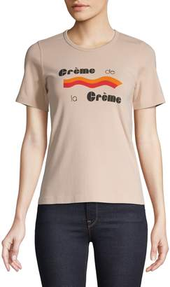 Monogram Graphic Cotton Stretch T-Shirt