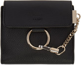 Chloé Black Small Faye Wallet