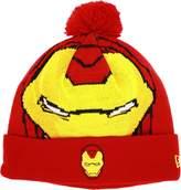 New Era Iron Man Woven Biggie Knit Cap