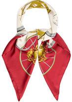 Hermes Multicolor Springs Scarf