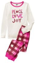 Crazy 8 Peace Love Joy 2-Piece Pajama Set