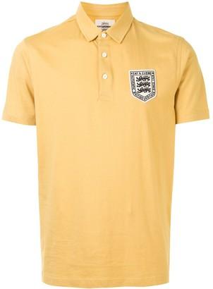 Kent & Curwen Short Sleeve Logo Patch Polo Shirt