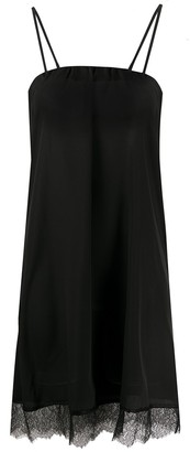 Twin-Set Scalloped Lace Shift Dress