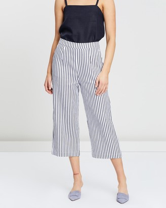 White By Ftl Amal Pants