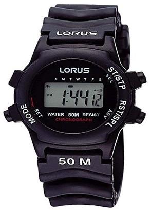 Lorus Ladies 'Watch XS Sport Digital Quartz Rubber R2365AX9