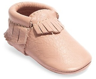 Freshly Picked Baby Girl's Classic Leather Moccasins