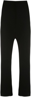 OSKLEN Ribbed Knit Trousers