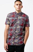 LIRA Flight Short Sleeve Button Up Shirt