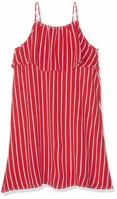 Tommy Hilfiger Girl's Fine Stripe Dress Slvls