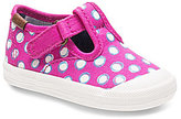 Keds Girls' Champion Toe Cap T-Strap Sneakers