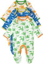 Cath Kidston Mono Dino Baby 3 Pack Sleepsuit