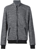 Maison Margiela textured zip up jacket
