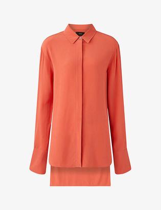 Joseph Bold silk crepe de chine blouse