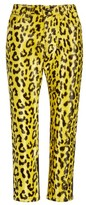 Junya Watanabe Women's Cheetah Print Crop Skinny Pants